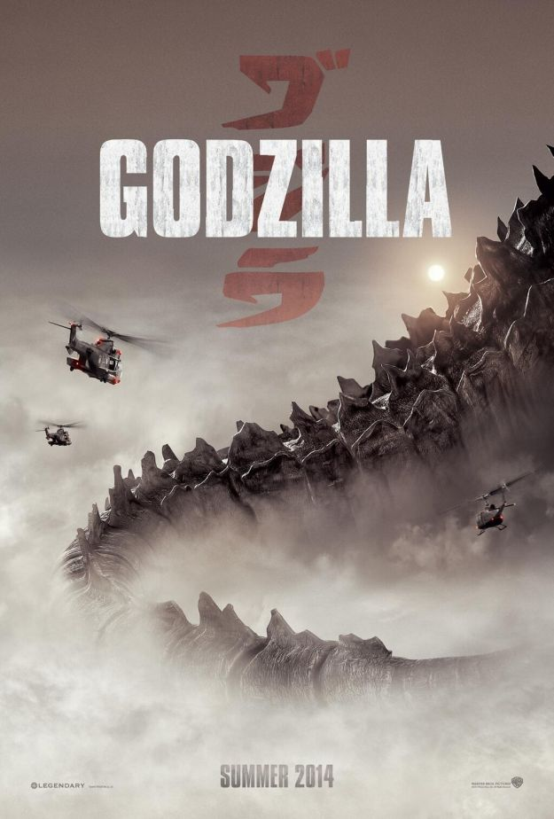 Godzilla poster revealed at Comic-Con!